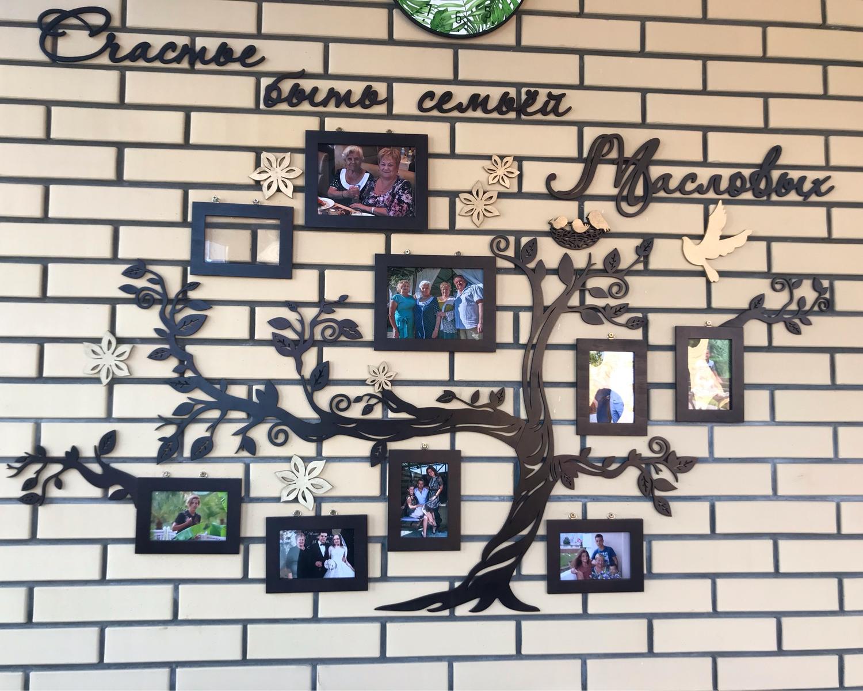 Photo №1 к отзыву покупателя Maslova Tatyana о товаре Фоторамка Семейное дерево