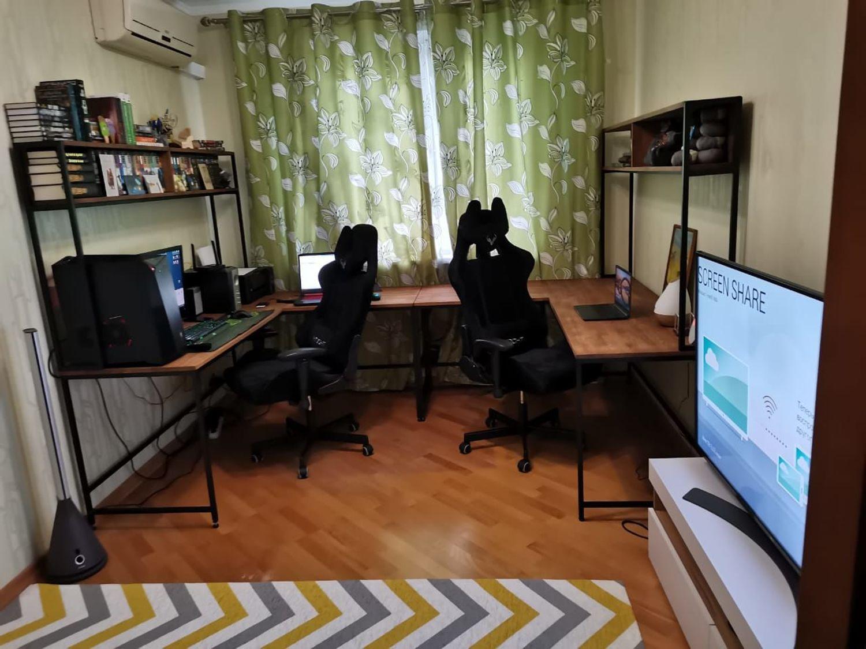 Photo №1 к отзыву покупателя Zhozef Belko о товаре Столы: Рабочий стол в стиле лофт