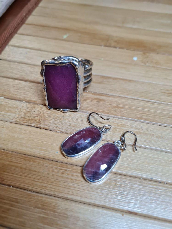 Photo №2 к отзыву покупателя Lolita о товаре НОЕМИ - серьги с крупными природными рубинами (корунды)