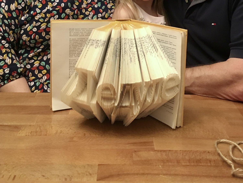 Фото №1 к отзыву покупателя Natali о товаре Geert-подарок мужчине,подарок парню,подарок сыну,bookart,book art,мужу