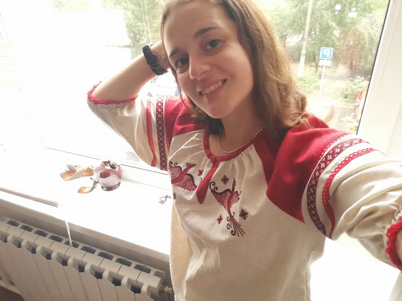 "Photo №1 к отзыву покупателя Mariya Zubkova о товаре Блузки: Рубаха женская ""Млада"""