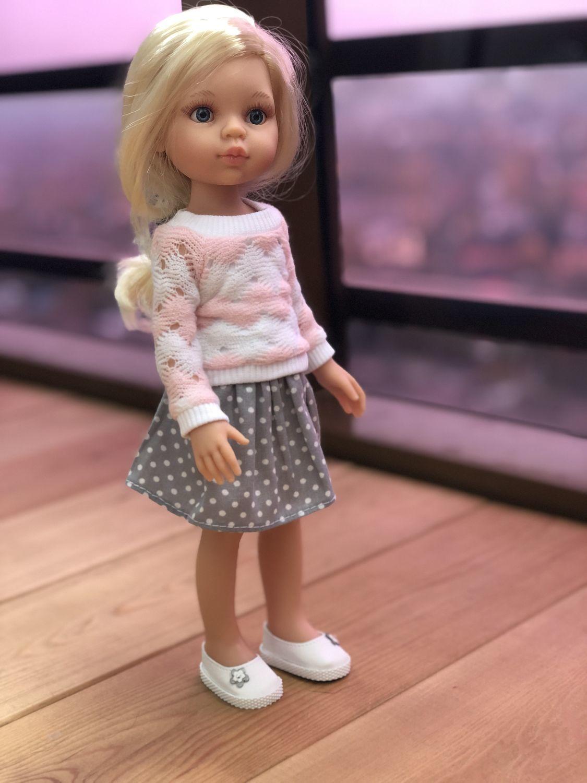 Фото №3 к отзыву покупателя Катерина о товаре Одежда для кукол: Хлопковое платье