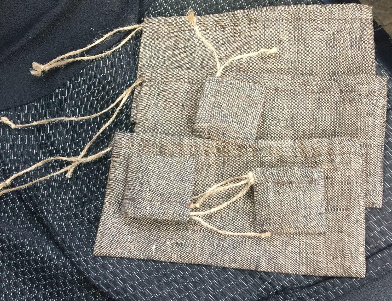 Фото №1 к отзыву покупателя Александр К о товаре Льняные мешки (большие размеры)
