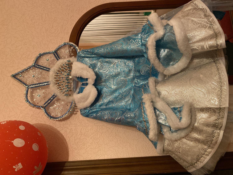 "Photo №1 к отзыву покупателя Zhivoderova Yuliya о товаре Костюм ""Снегурочка""  Арт.455"