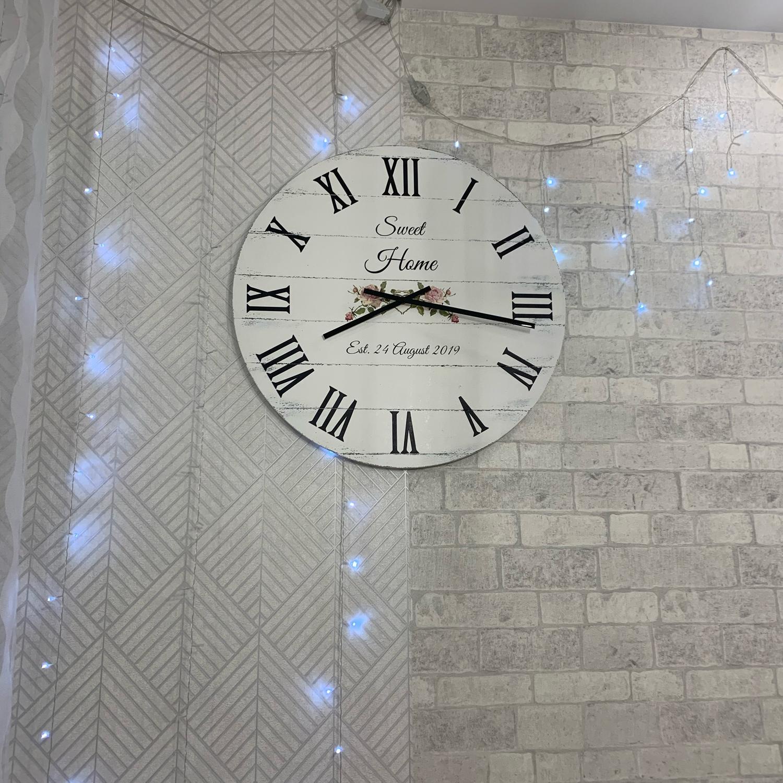 """Photo №1 к отзыву покупателя Nadya о товаре Часы настенные 76cм """"Boutique"""""""