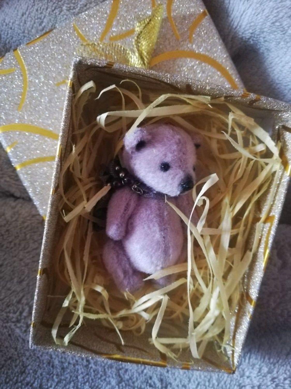 Photo №2 к отзыву покупателя Cheirurg о товаре Мини мишка Тедди,5,5см.