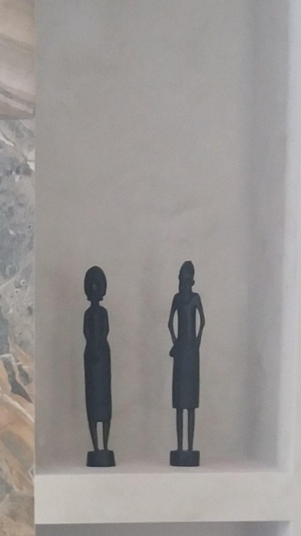 Фото №1 к отзыву покупателя Ольга Нургельдиева о товаре Винтаж: Две интересные африканские статуэтки