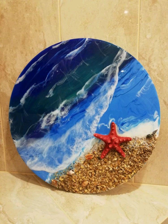 Фото №2 к отзыву покупателя Бирюкова Лариса о товаре Панно: Море 2