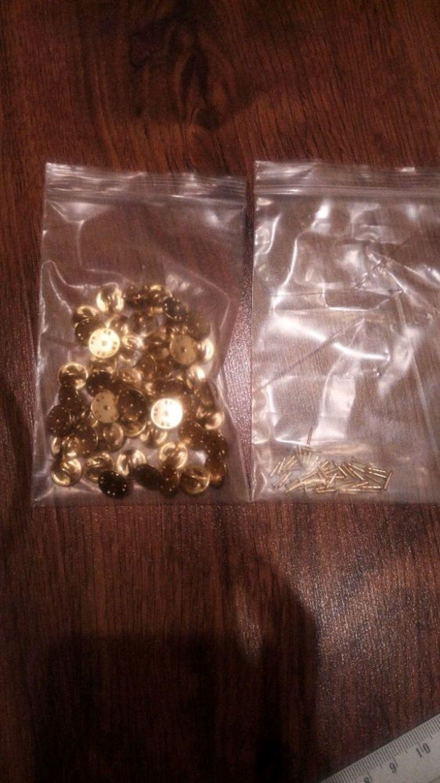Фото №2 к отзыву покупателя Варвара о товаре Фурнитура основа для значков брошей Цанговое крепление Бабочка Ballou