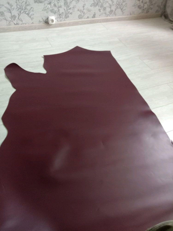 Фото №1 к отзыву покупателя Семён о товаре Натуральная кожа 2,0-2,2 мм Bolero - Chile!