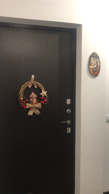 """Фото №1 к отзыву покупателя Стася Фролова о товаре Венок рождественский """"Волшебный домик"""""""