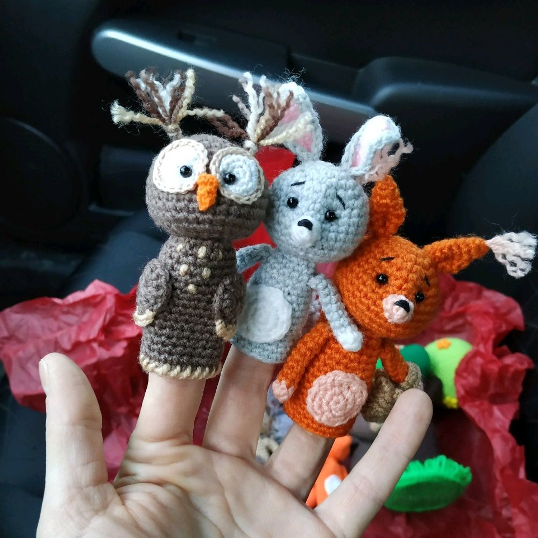 Photo №1 к отзыву покупателя Timofeeva Irina о товаре Лесные зверята и цветущее дерево