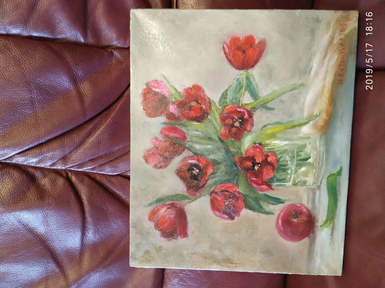 Фото №1 к отзыву покупателя Елена о товаре Тюльпаны