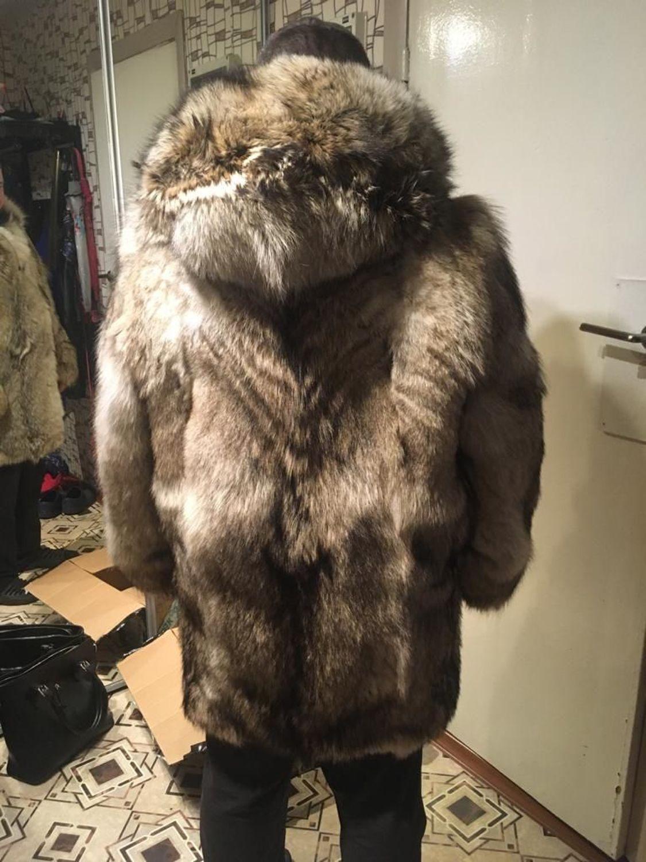 Фото №1 к отзыву покупателя Антонов Владимир о товаре Мужское пальто из волка