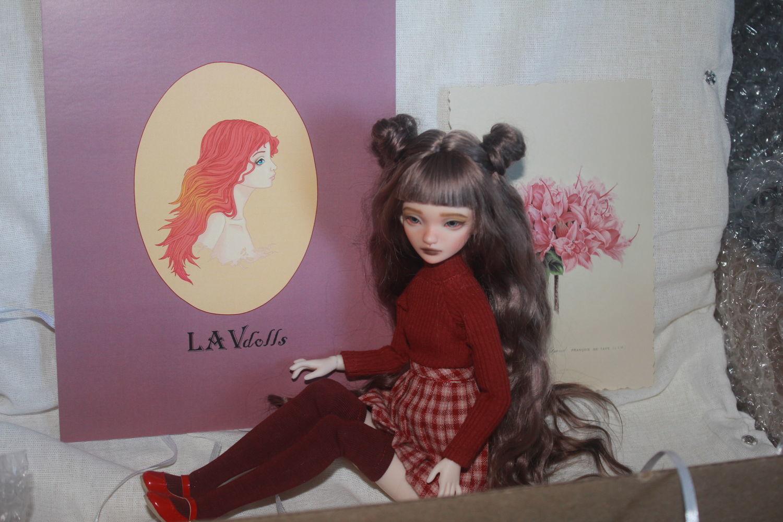Фото №2 к отзыву покупателя Глобучик Ирина о товаре Авторская шарнирная кукла Мэй