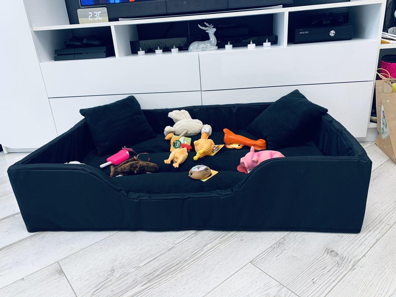 Фото №2 к отзыву покупателя Юденок Светлана о товаре Лежанка, лежак для большой собаки №87