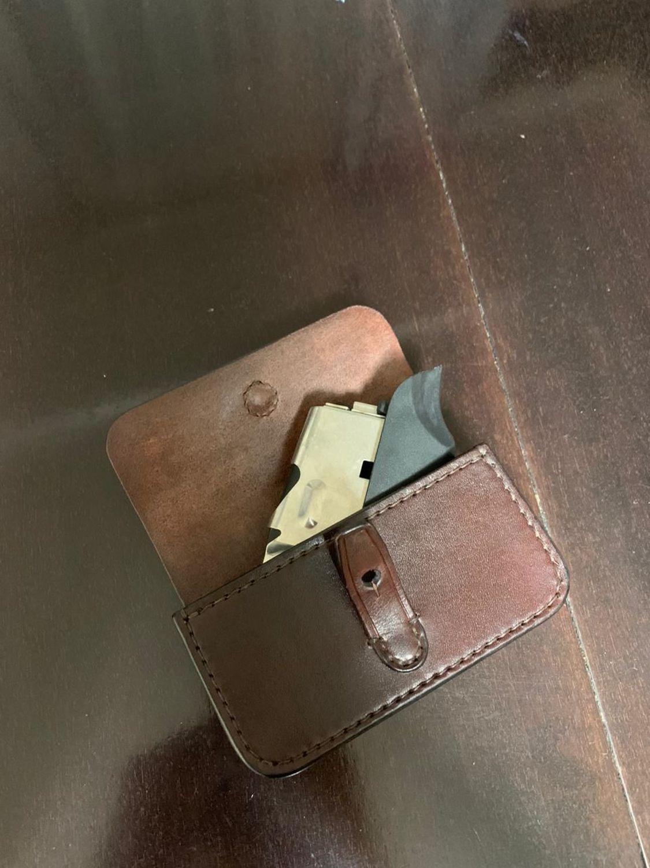 Photo №2 к отзыву покупателя Harchenko Irina о товаре Патронташ кожаный под нарезной патрон