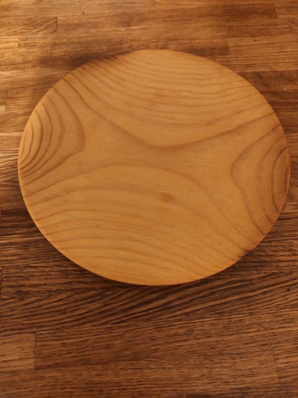 Фото №1 к отзыву покупателя Игорь о товаре Тарелка кедровая (плоская) и еще 1 товар