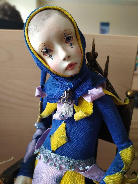 Фото №1 к отзыву покупателя Стенникова Полина о товаре Интерьерная кукла: ГИДЕОН