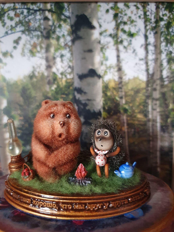 Фото №1 к отзыву покупателя Колесникова Анна о товаре Ёжик и Медвежонок