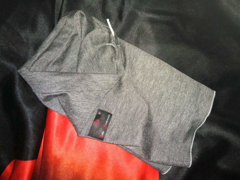 Фото №1 к отзыву покупателя Сергей о товаре Маска_снуд_03сермеланж Маска-трансформер, цвет серый меланж.