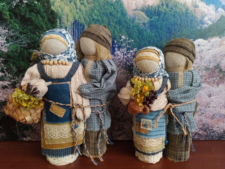 Photo №1 к отзыву покупателя Lysikov Sergej о товаре Куклы обереги. Неразлучники по мотивам Славянской народной куклы