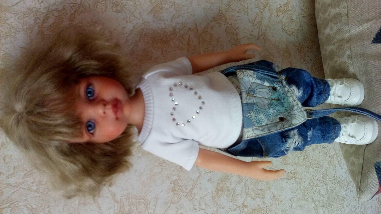 Фото №1 к отзыву покупателя tanysha о товаре Одежда для кукол: Футболка