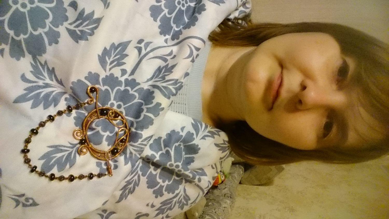Фото №1 к отзыву покупателя Ирина Кузнецова о товаре Брошь Винтажная Скандинавия