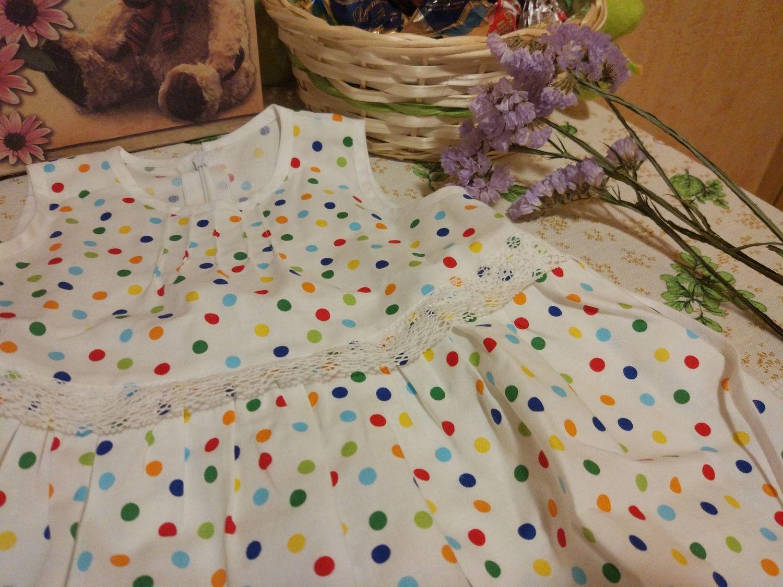 Фото №2 к отзыву покупателя Ольга о товаре Платье МАЛЫШКА. Из американского хлопка