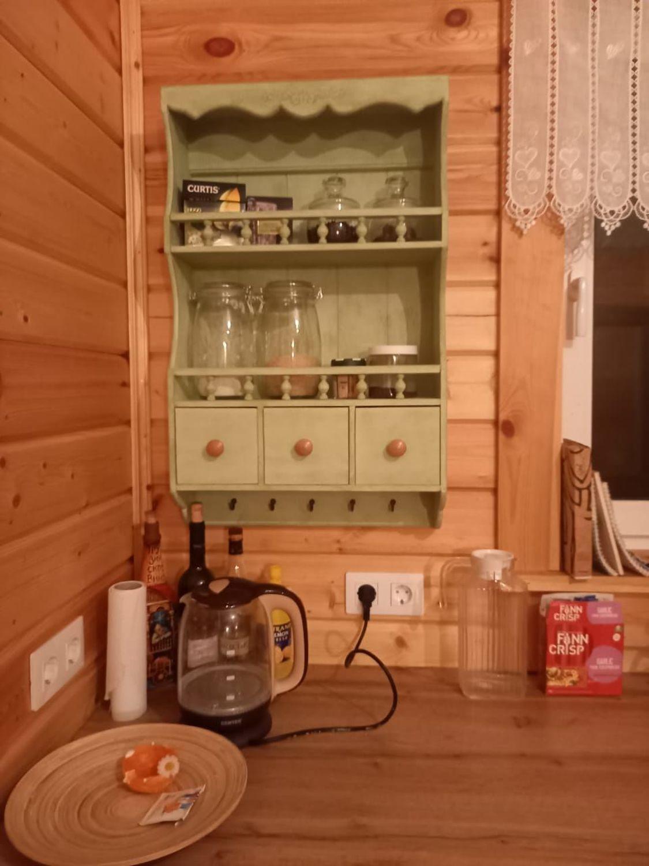 Photo №1 к отзыву покупателя Aleksandra о товаре Полка для специй посуды тарелок