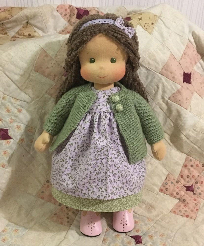 Фото №1 к отзыву покупателя Sofya Rakhimova о товаре Вальдорфская кукла Бордо