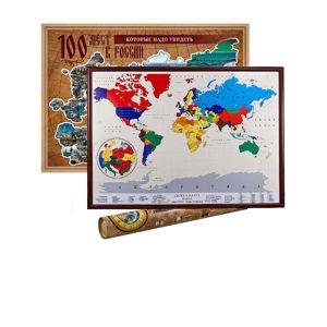 Скретч карты и плакаты