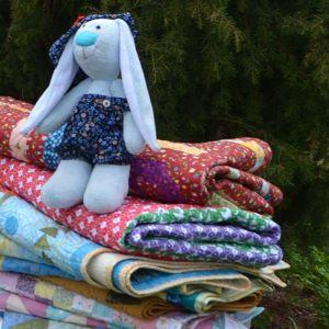 Лоскутные одеяла и  покрывала