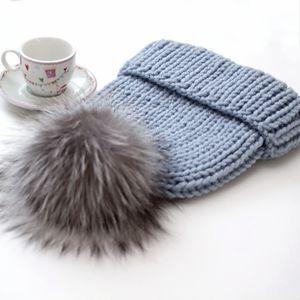 Вязаные шапочки для взрослых