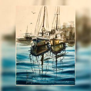 Картины акварелью