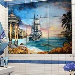 Плитка панно в ванную