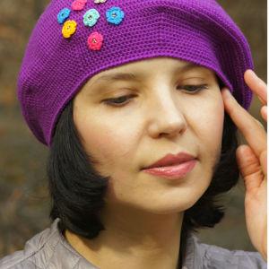 Женские шапки, шапочки, береты