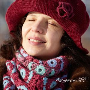 Элегантные женские вязаные шляпки