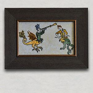 Панно, зеркала и картины из стекла