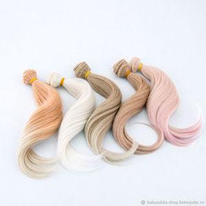 Трессы, парики для кукол