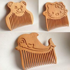Гребешки для волос из дерева