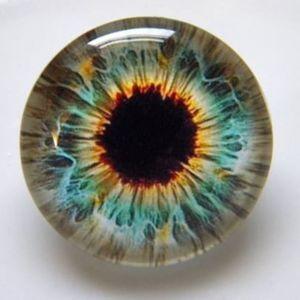 16мм глазки стеклянные