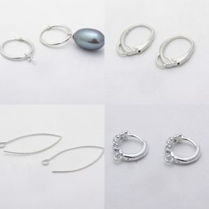 Швензы для серег из серебра 925