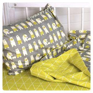 Детское постельное белье из сатина