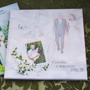 Свадебные фотокниги из ваших фото
