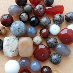 Бусины камни