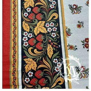 Ткань льняная с хлопком (кайма)