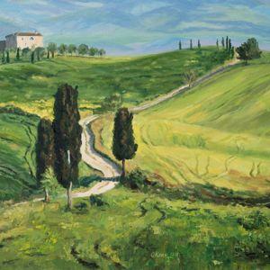 Тоскана пейзажи