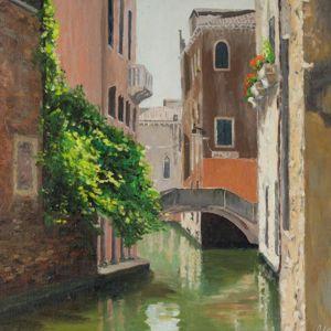 Венеция картины маслом