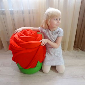 Пуфы-цветы
